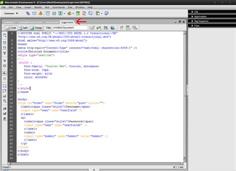 membuat web sederhana dengan dreamweaver 8 dont just talk it membuat web sederhana dengan