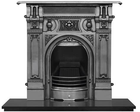 large cast iron combination fireplaces carron