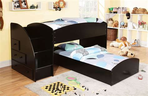 merritt black bunk bed from furniture of