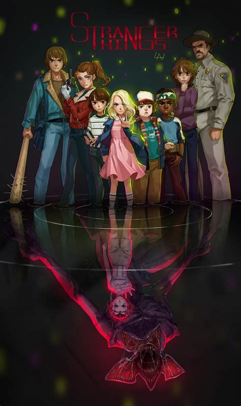 Earthbound Home Decor by Cool Art Stranger Things By Yuan Lan Live For Films