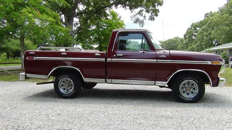 truck ford ranger all american classic cars 1979 ford f100 ranger pickup truck