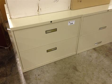 steelcase beige 2 drawer lateral file cabinet able auctions