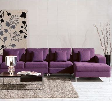 Images  Purple Sectional Sofa  Pinterest