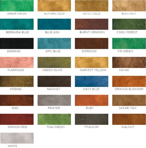 concrete stain colors 25 best ideas about concrete stain colors on