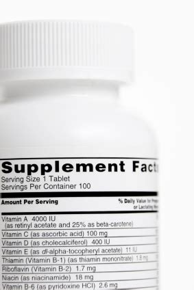supplement facts label design requirements how to comply with fda requirements for dietary supplement