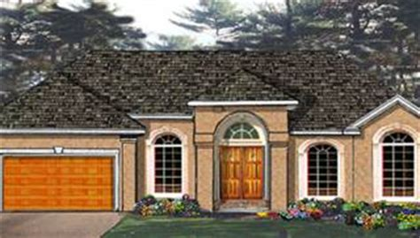 elegant one story home 6994 4 bedrooms and 2 5 baths plan 6994