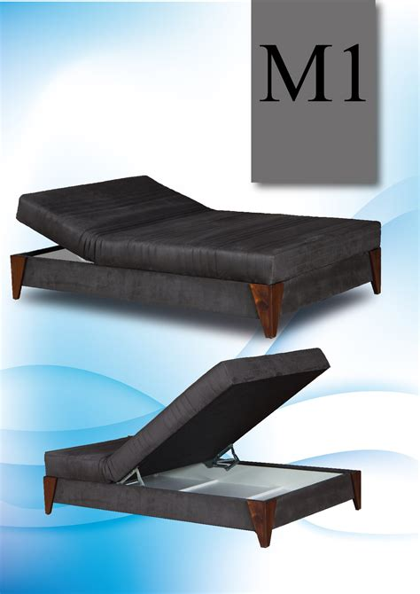 wide bed with storage box