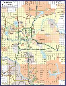 map of oklahoma 2017 2018 state map