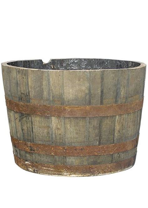 whisky barrel planter whiskey barrel planter 70 home furniture decor