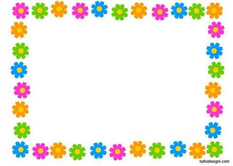 fiori cornici cornice primavera fiori disegni per biglietti
