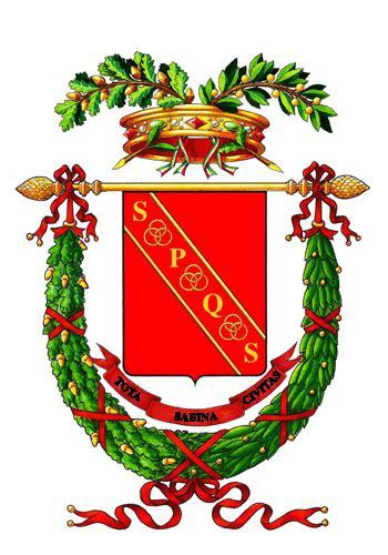 codice fiscale significato lettere stemma provincia di rieti