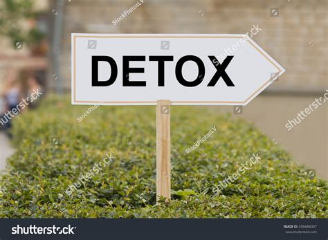 Similar Words For Detox word detox on signpost stock photo 456684007