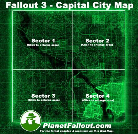 Find On Map Fallout 3 Map Www Imgkid The Image Kid Has It