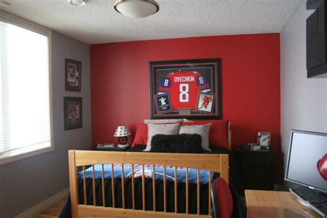 hockey bedroom decor hockey bedrooms idea for small space