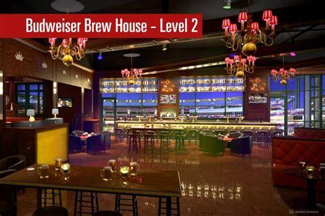 budweiser brew house budweiser brew house level 2 busch stadium pinterest
