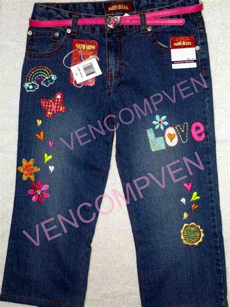 como decorar jeans con pedreria jeans fantas 237 a decorados espectaculares para tu ni 241 a