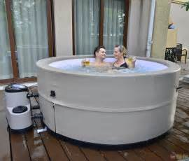 Portable Jacuzzi For Bathtub Grand Oasis Energy Efficient Portable Tub Spa