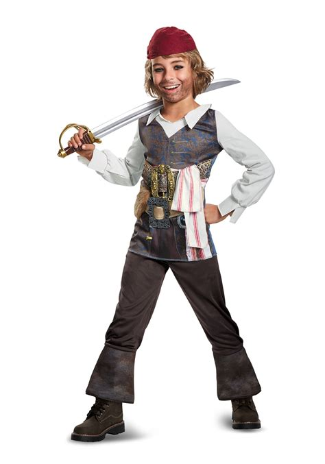 That Sparrow Kid by Child Captain Sparrow Classic Costume