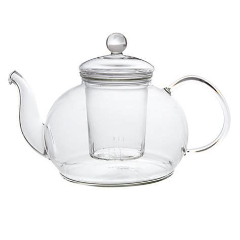 glass teapot with buy lewis glass teapot with infuser 1 2l lewis