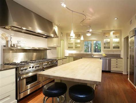 how to light a kitchen kitchen track lighting easy way to enhance your kitchen