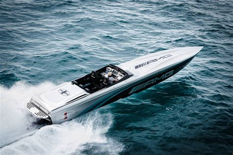 cigarette boat price new lewis hamilton helps debut cigarette racing 50 marauder