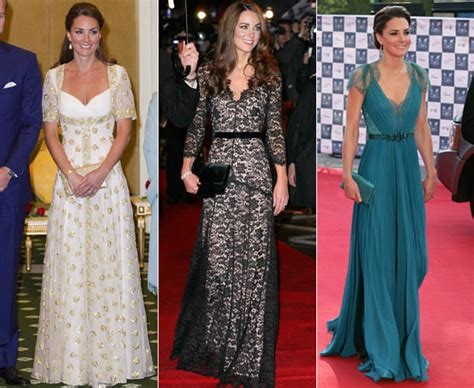 Gaun Diana Blue Maxi kate middleton s best style moments from 2012