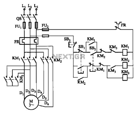 two speed motor starter wiring diagram efcaviation