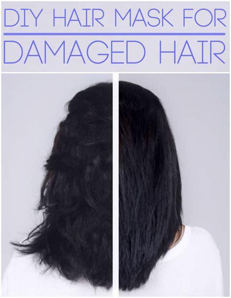 homemade hair reconstructor diy hair mask for dry damaged hair 1 egg yolk 2 tbsp