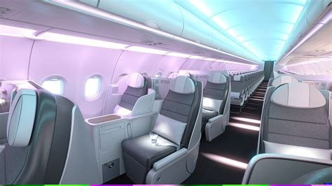 airbus a320 cabin aircraft interiors expo 2018 showcasing a330neo a320
