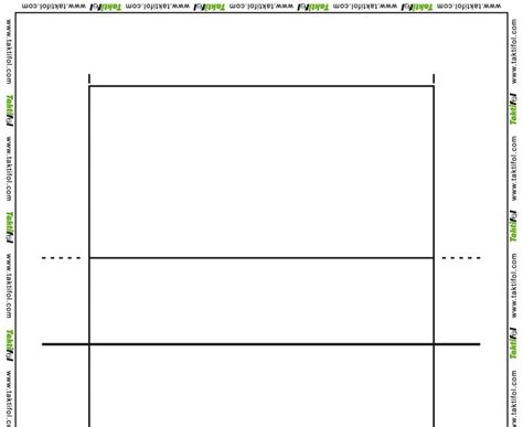 printable volleyball court blank volleyball courts white gold