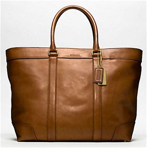 Coach Legacy Oxford Stripe Slim Tote by If You Re Not Shopping The Coach S Collection
