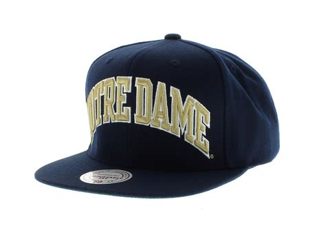 notre dame colors notre dame the arch solid snapback team colors by