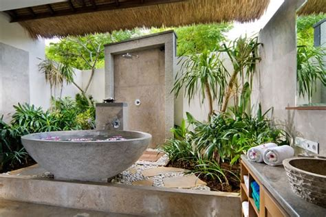 open air bathroom designs 42 amazing tropical bathroom d 233 cor ideas digsdigs