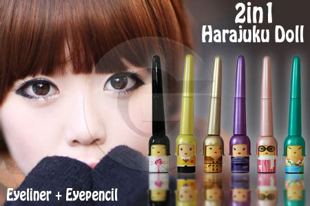 Wenter Wantex Hitam Pekat Tidak Mudah Luntur princess etude house harajuku eyeliner waterproof
