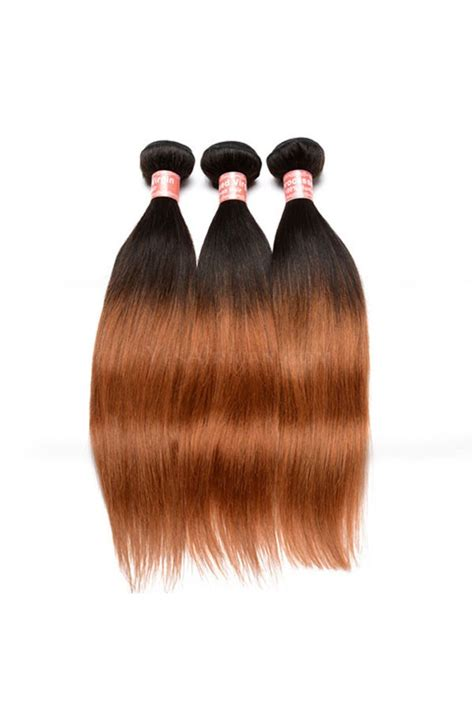 ombre weave hair st brazilian virgin human hair ombre hair weave color 1b 30
