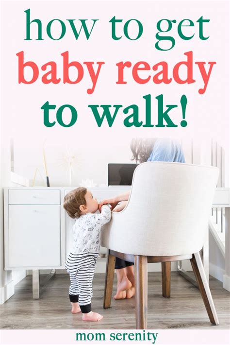 getting baby to walk preparing your baby to walk with ease serenity