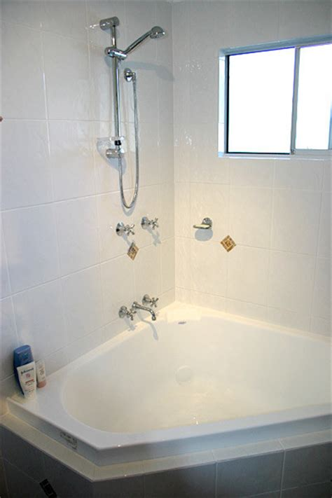 shower over bathtub shower over bath bathroom renovations photos brisbane