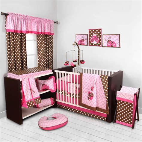 Ladybug Nursery Theme For Your Baby Girl Ladybug Baby Bedding Sets