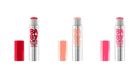 Maybelline Baby Colors maybelline new york baby color balm crayons are