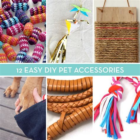 diy pet stuff 12 and easy diy pet accessories toys leashes