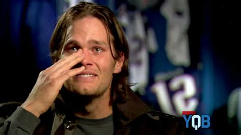 Tom Brady Crying Meme - tom brady tells patriots fans quot start drinking early