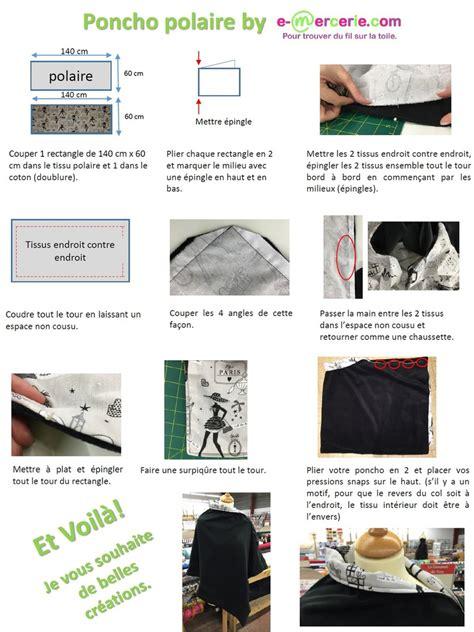 Deco Vanity Tuto Poncho Polaire Viny Diy Le Blog De Tutos Couture