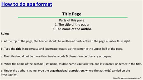 how do you write an apa paper how to write in apa format properly