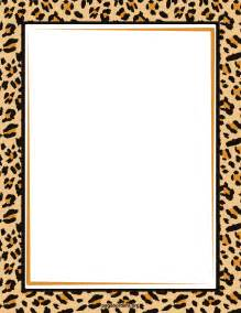 Animal Print Templates by Free Zebra Print Border Cliparts Co
