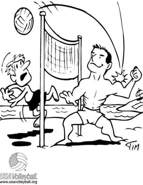 volleyball coloring pages pdf volleyball coloring pages coloring home