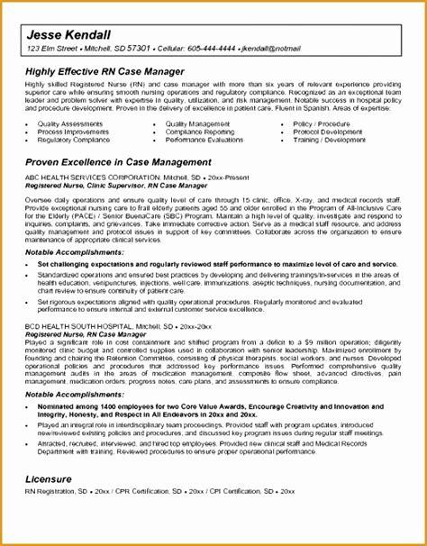 Resume For Nursing Director 6 Sle Director Nursing Resume Free Sles Exles