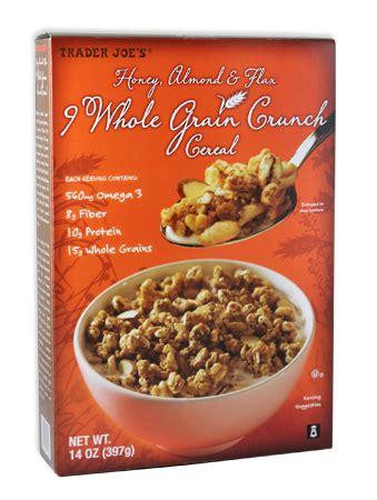 9 whole grain crunch cereal healthy snack ideas at trader joe s