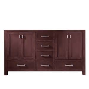 60 Inch Sink Vanity Lowes Shop Avanity Modero Espresso Traditional Bathroom Vanity