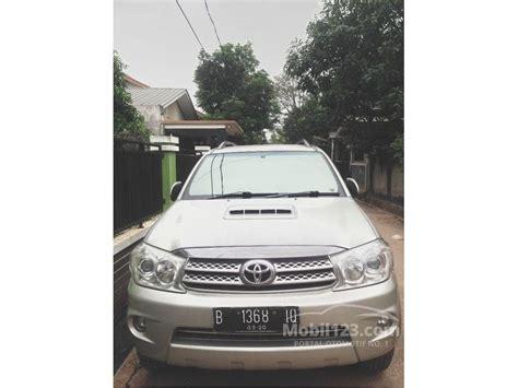 Kas Rem Mobil Fortuner jual mobil toyota fortuner 2005 g 2 7 di dki jakarta automatic suv silver rp 170 000 000