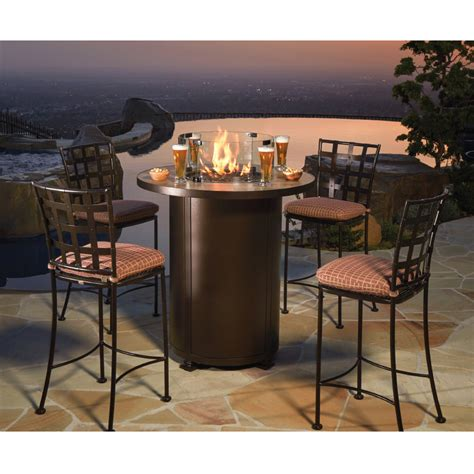 high top esszimmer sets ow santorini 36 quot counter height pit table